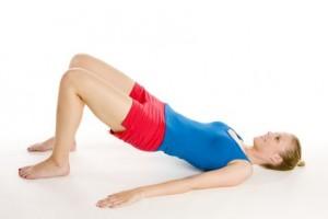 упражнение для бёдер и ягодиц