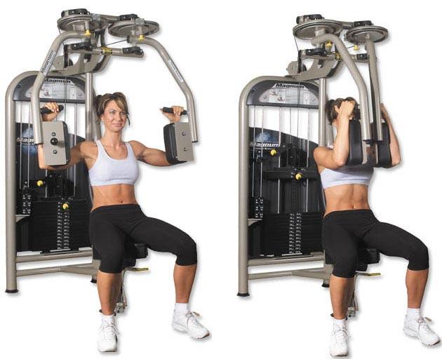 Тренажер бабочка для грудных мышц своими руками