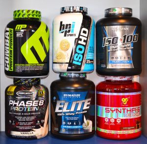 Спортивное питание: Протеин